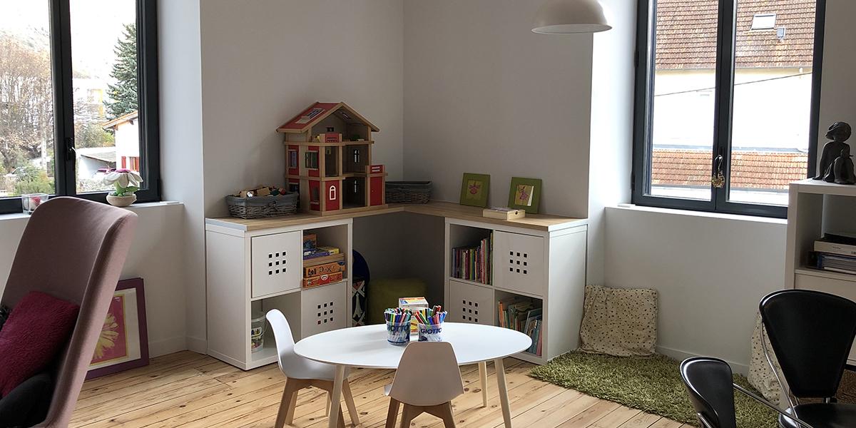 Espace enfants - Cabinet Isabelle Cherucan